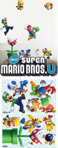 Stickers Super Mario Bros. U - Collection exclusive