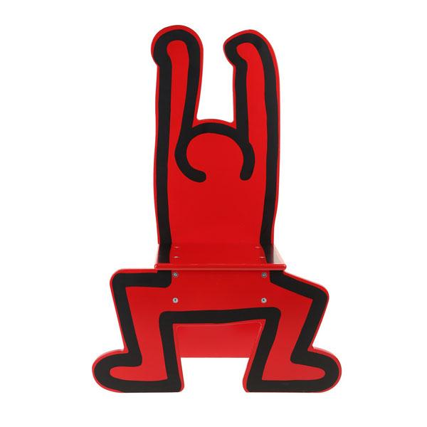 chaise keith haring dancer vilac cadeaux et objets collector k haring 79 00. Black Bedroom Furniture Sets. Home Design Ideas