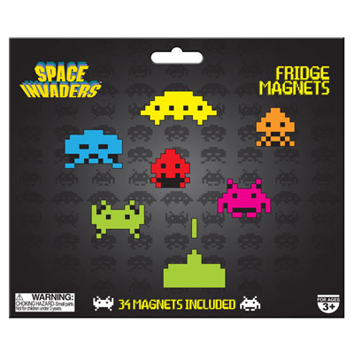 Magnets  Space Invaders à 7,95 € - Stickboutik.com