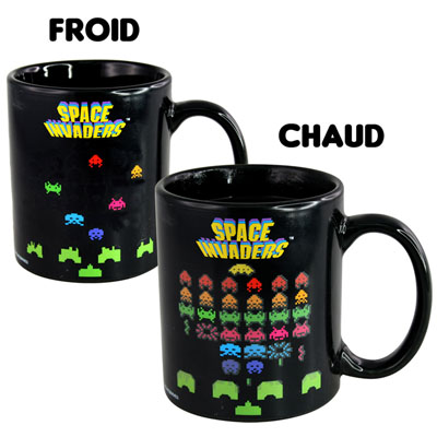 Mug Chaud Froid Space Invaders à 8,90 € - Stickboutik.com