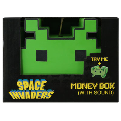 Tirelire sonore Space Invaders à 14,95 € - Stickboutik.com
