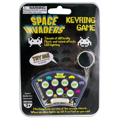 Porte-clés Jeu Space Invaders à 5,90 € - Stickboutik.com