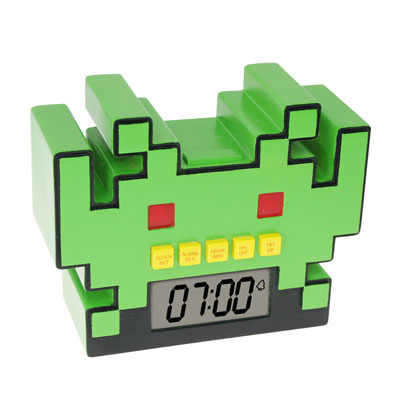 Réveil  Space Invaders  à 13,99 € - Stickboutik.com