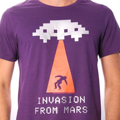 Invasion From Mars Pourpre par Taito à 16,95 € - Stickboutik.com