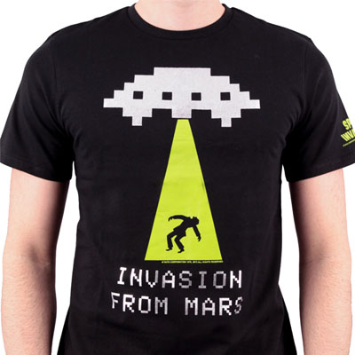 Invasion From Mars Noir par Taito à 16,95 € - Stickboutik.com