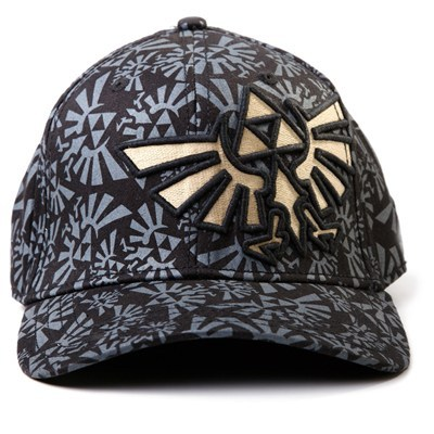Casquette Zelda Triforce The Legend Of Zelda  à 17,90 € - Stickboutik.com