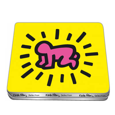 Biscuits Radiant Baby Keith Haring à 8,5 € - Stickboutik.com