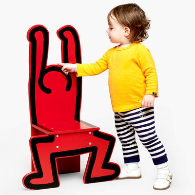Chaise Keith Haring - Dancer Vilac à 79,00 € - Stickboutik.com