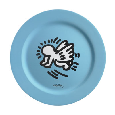 Set de 6 Assiettes 28cm Keith Haring à 39,90 € - Stickboutik.com