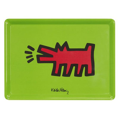 Plateau Dog - Large Keith Haring à 14,90 € - Stickboutik.com