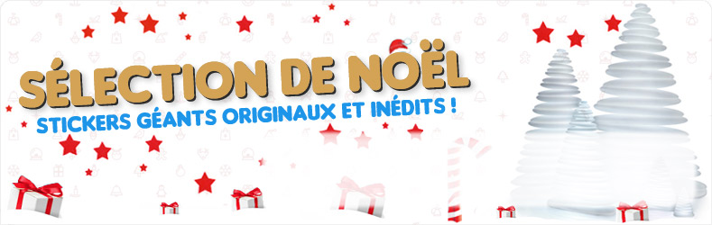 Sélection de Stickers Noël 2015