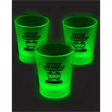 Gadgets-Geek: Verres Shooters phosphorescents - Space Invaders