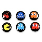 Gadgets-Geek: Pac-Man Badges (pack de 6) - Pac Man