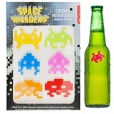 Gadgets-Geek: Marques Verres en Silicone  - Space Invaders
