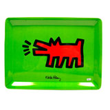 Plateau Dog - Moyen - Keith Haring - Objets cadeaux Keith Haring sur Stickboutik.com
