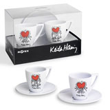 Tasses � caf� Heart - Keith Haring : 11,00 €