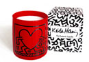 Boutique Cadeaux Keith Haring - PopShop Bougie parfumée Hear... - Keith Haring : 27.90 €