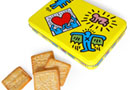 Boutique Cadeaux Keith Haring - PopShop Biscuits en boite mé... - Keith Haring : 7,5 €