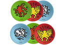 Set de 6 Assiettes 20cmKeith Haring