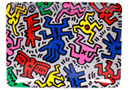 Boutique Cadeaux Keith Haring - PopShop Plateau Graffiti - Moyen - Keith Haring : 10.00 €