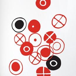 Circles - Small Stic...  Charles & Ray EAMES: Wall Sticker & Wall Decal Image - Only on Stickboutik.com