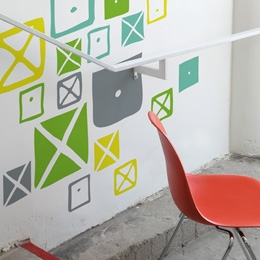 Crosspatch  - Assort...  Charles & Ray EAMES: Wall Sticker & Wall Decal Image - Only on Stickboutik.com