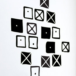 Crosspatch  par Charles & Ray EAMES: Wall Sticker & Wall Decal Image - Only on Stickboutik.com