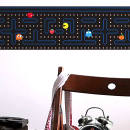 Geek Wall Stickers & Video games wall Decals by PacMan