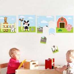 Special Deal Giant Wall Stickers  A Modern Eden