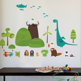 Kids Wall Stickers & Decals by  BabyBot