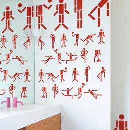 Special Deal Giant Wall Stickers  2x4