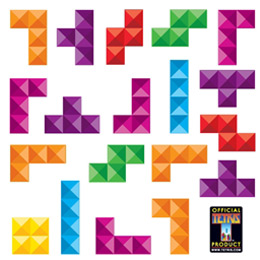 Geek Wall Stickers & Video games wall Decals by  Tetris