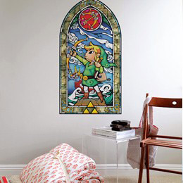 Geek & Gaming Wall Stickers  Zelda Wind Waker: Heros Bow Wall Decals by  Nintendo - Original and exclusive Geek & Gaming Wall Stickers on Stickboutik.com