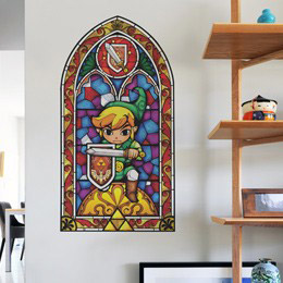 Geek & Gaming Wall Stickers  Zelda Wind Waker: Sword Wall Decals by  Nintendo - Original and exclusive Geek & Gaming Wall Stickers on Stickboutik.com