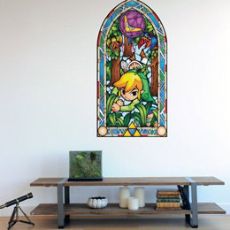 Geek & Gaming Wall Stickers  Zelda Wind Waker: Boomerang Wall Decals by  Nintendo - Original and exclusive Geek & Gaming Wall Stickers on Stickboutik.com