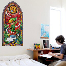 Geek & Gaming Wall Stickers  Zelda: Wind Waker Silver Wall Decals by  Nintendo - Original and exclusive Geek & Gaming Wall Stickers on Stickboutik.com