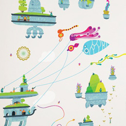 Stickers muraux Hohokum PlayStation