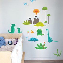 Strange NewWorld  - ...  BabyBot: Wall Stickers & Wall Decals