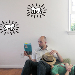 Radiant Baby Dual Wa... Keith Haring: Wall Stickers & Wall Decals