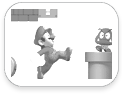 stickboutik.com - New Super Mario Bros par Nintendo - Re-Positionnables