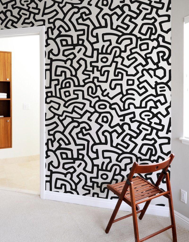 PopShop Giant Wall Murals  Keith Haring: Wall Sticker & Wall Decal Main Image