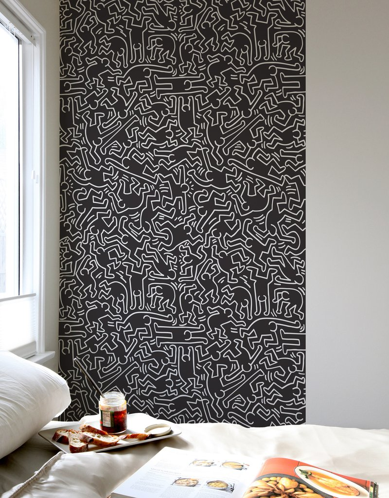 Dancers Giant Wall Murals Keith Haring: Wall Sticker U0026 Wall Decal Main Image Part 49