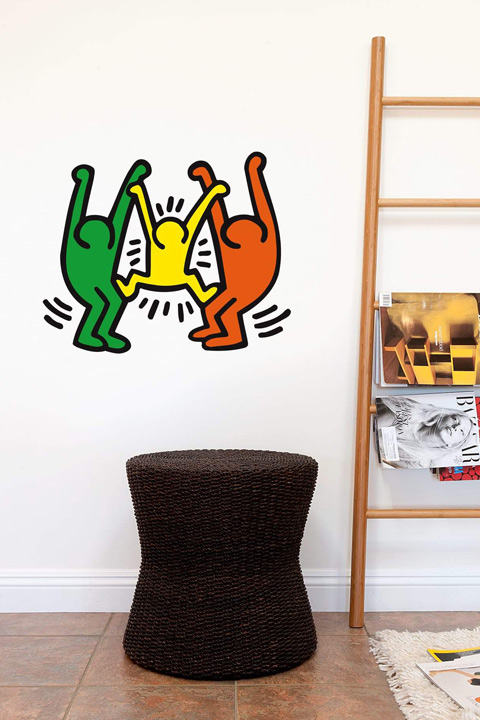 Keith Haring - Family Wall Sticker & Wall Decals only on Stickboutik.com - 1/2