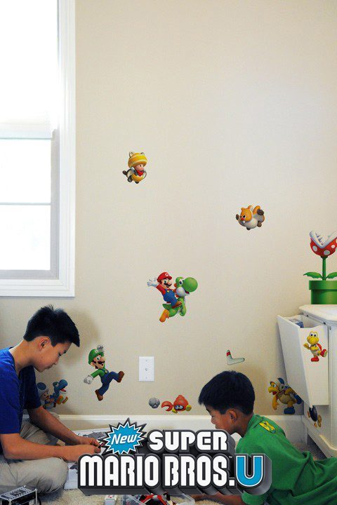 New Super Mario Bros. U Mini Wall Stickers & Wall Decals | Official Nintendo Stickers only on Stickboutik.com - 2/7