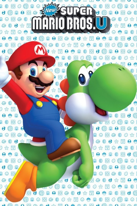 New Super Mario Bros. U Mini Wall Stickers & Wall Decals | Official Nintendo Stickers only on Stickboutik.com - 4/7