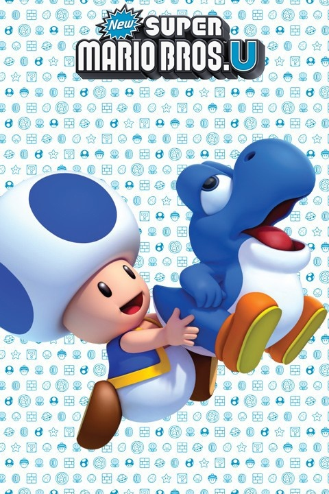 New Super Mario Bros. U Mini Wall Stickers & Wall Decals | Official Nintendo Stickers only on Stickboutik.com - 5/7