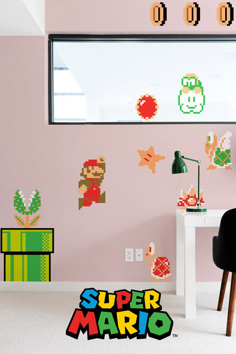 Super Mario Bros Wall Sticker Decals - Official Nintendo Wall Stickers only on Stickboutik.com - 2/8
