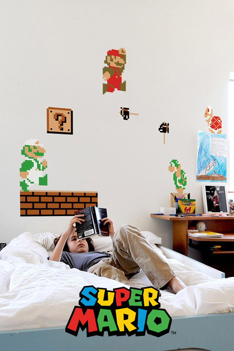 Super Mario Bros Wall Sticker Decals - Official Nintendo Wall Stickers only on Stickboutik.com - 3/8