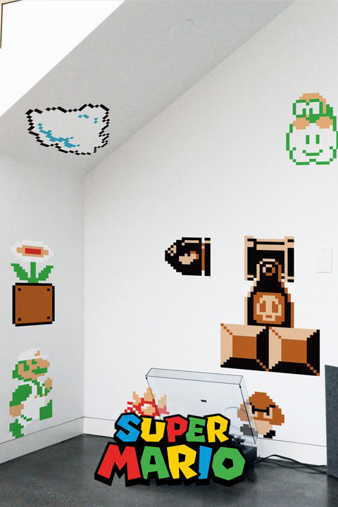 Super Mario Bros Wall Sticker Decals - Official Nintendo Wall Stickers only on Stickboutik.com - 5/8