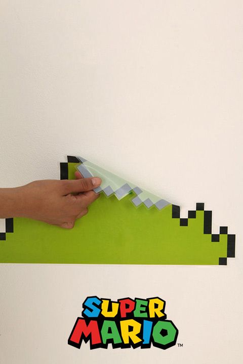 Super Mario Bros Wall Sticker Decals - Official Nintendo Wall Stickers only on Stickboutik.com - 7/8